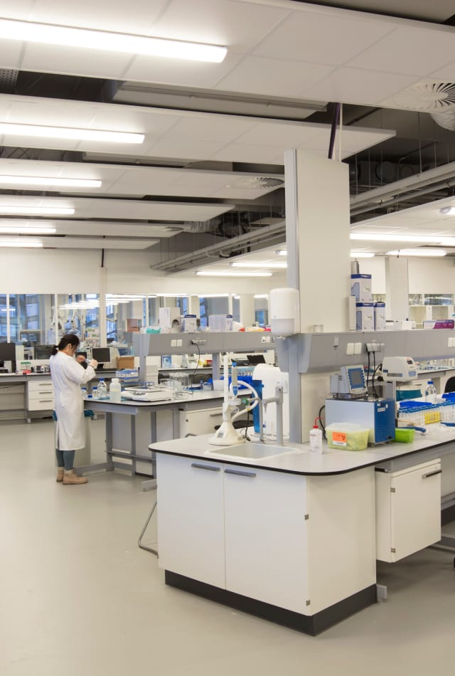 State-of-the-art multi-disciplinary research facilities